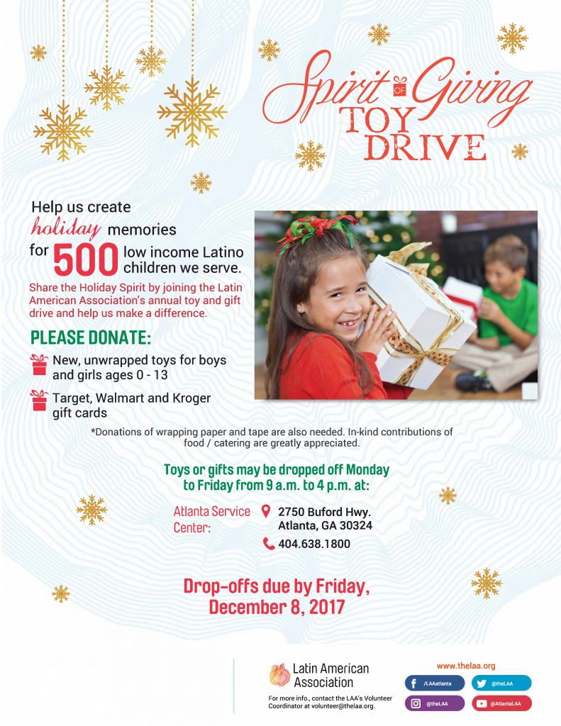 17_11_THELAA_Spirit of Giving_Flyer Ingles generic