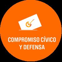 Compromiso civico y defensa